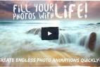 AE模板 - 静态图片局部流体循环动画特效 Living Stills Looping Photo Animator