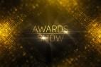 AE模板-金色华丽粒子年会活动晚会颁奖典礼片头包装 Awards