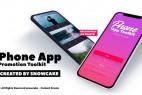 AE模板-三维iPhone手机APP宣传展示动画场景片头