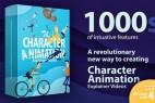 AE模板-卡通人物角色绑定动作MG动画工具包  Character Animation Explainer Toolkit