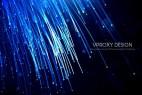 AE模板-漂亮光线发射背景文字宣传片头 Optical Light Inspiring Titles