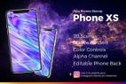 AE模板-iPhoneXS手机APP动画宣传快闪片头