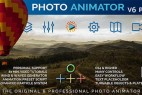 AE模板-图片转立体三维空间视频旋转推拉焦距景深动画效果 Photo Animator V6