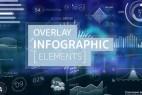 AE模板-几百种HUD信息数据UI图表动态元素 Overlay Infographic Elements