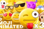 AE模板-30个网络卡通Emoji表情动画(含GIF+PNG+渲染好的视频)