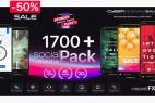 AE脚本-1700+Instagram手机横竖屏视频包装动画网络时尚文字标题背景字幕预设V6.2 破解版