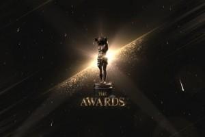 AE模板-奢华金色闪耀粒子公司企业年会活动颁奖典礼栏目包装开场片头 The Awards