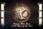 AE模板-公元2020中国鼠年新年快乐LOGO片头 Chinese New Year