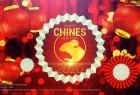 AE模板-中国2020鼠年红色喜庆灯笼祥云新年快乐开场片头 Chinese New Year