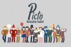 AE模板-简单线条卡通人物动作MG动画场景元素包 Picto Animation Toolkit