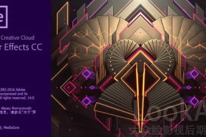 AE CC 2017 软件中文英文完整破解版 Adobe After Effects CC 2017.2.2 Win/Mac