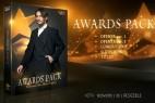 AE模板-金色闪耀奖杯颁奖典礼开场片头栏目包装 Awards Pack