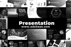 AE模板-1350+创意文字标题字幕排版横竖屏包装动画