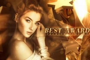 AE模板-最受欢迎电影演员最佳优秀员工颁奖典礼人物介绍包装 Best Awards