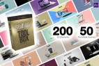 AE模板+PR预设-三维场景时尚轻奢现代元素包装动画