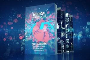 AE脚本-700组人体医疗骨骼器官X射线细胞DNA动画元素 AtomX破解版
