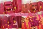 AE模板-漂亮优雅三维立体文字2021新年快乐春节过年片头