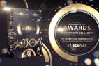 AE模板-金色粒子光斑荣耀颁奖典礼文字标题介绍开场片头 Cobalt Golden Luxury Awards 4K
