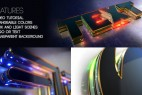 AE模板-使用E3D插件制作三维立体霓虹发光LOGO片头 Futuristic Logo