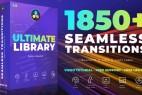 达芬奇插件预设-1850组视频无缝转场调色预设光效音效素材 DaVinci Resolve