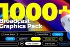 Premiere/PR预设-1000+视频新闻栏目包装文字标题人民字幕条动画