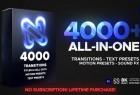 PR预设模板-4000+文字标题场景片头视频调色转场图层运动特效包装工具包V12