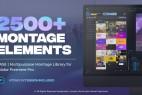 AE+Premiere/PR脚本-2500组无缝视频转场文字标题排版字幕条动画调色特效预设V2 破解版