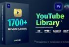 Premiere/PR脚本-1700无缝视频转场文字标题排版包装字幕动画预设 破解版