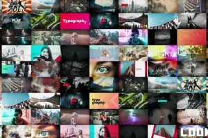 AE模板-1500+视频特效转场调色背景片头包装素材工具包V2