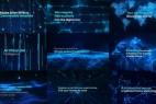 AE模板-Plexus Form科幻线条粒子背景文字标题宣传片头+背景音乐