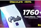 AE+Premiere/PR模板预设-1760组无缝视频转场文字标题字幕动画工具包
