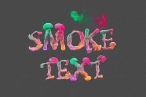 AE模板-烟雾消散汇聚文字标题特效动画 Smoke Text Typography