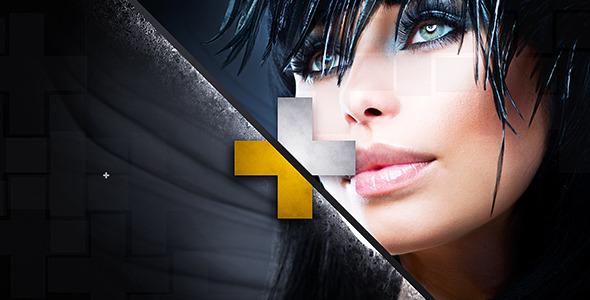 AE模板:时尚个性分屏动感图片展示 Fashion