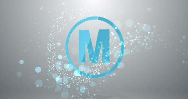 AE模版:漂亮粒子划过LOGO片头展示 Quick Particle Logo