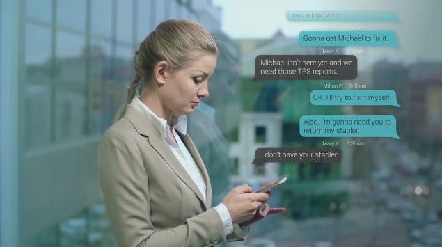 AE模版:手机信息短信气泡对话弹窗 Text Messaging