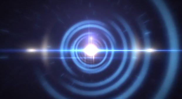 AE模板:漩涡光效LOGO展示片头 Light Logo