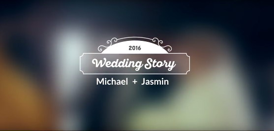 AE模版:10种主题婚礼新郎新娘姓名标签动画 10 wedding titles