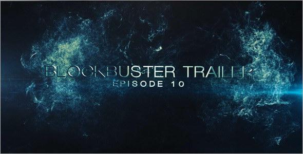 AE模板:E3D史诗震撼大片游戏电影预告片企业宣传片开场展示模板(含背景音乐) Blockbuster Trailer 10 免费下载