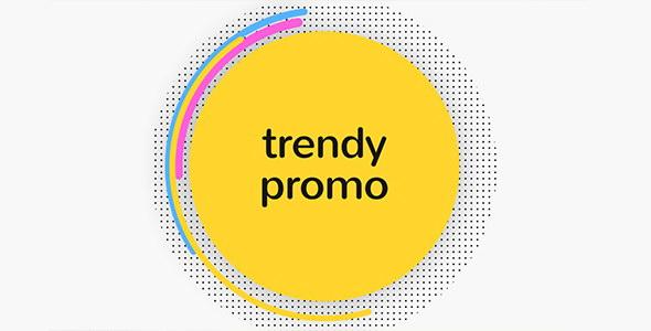 AE模板:时尚炫彩MG图形转场宣传介绍栏目包装 Trendy Opener