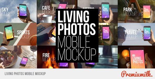 AE模板:日常生活场景中手机界面动画展示效果
