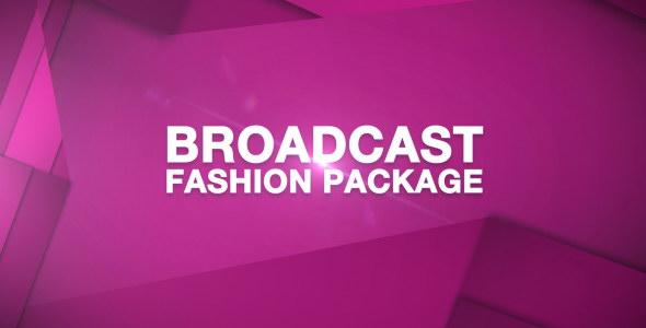 AE模板:时尚电视广播节目预告导视栏目包装 Broadcast Fashion Package
