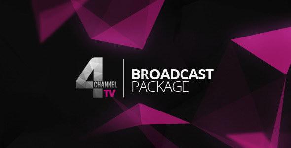 AE模板:广播电视界面栏目包装 4TV Broadcast Package