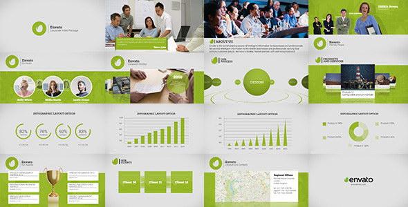 AE模板:公司企业宣传介绍栏目包装 Corporate Video Package