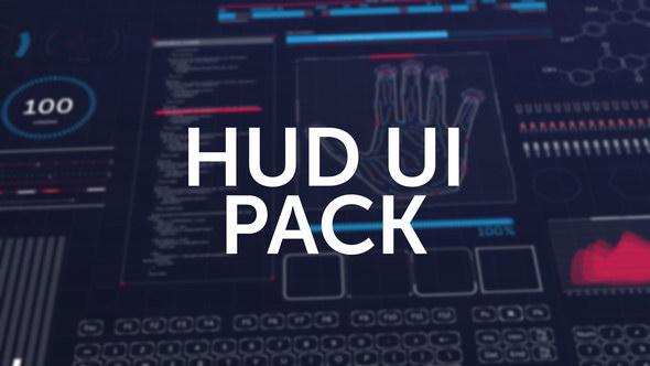 第11季 AE模版:180种HUD高科技信息化动态UI元素包