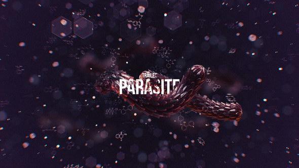 AE模版-恐怖惊悚电影片头 Parasite Trailer