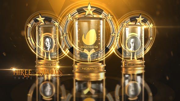 AE模板-候选榜单提名颁奖典礼片头 Awards Nominations