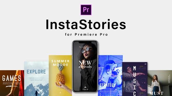 Premiere/PR预设-180组时尚生活旅游体育信息竖屏视频包装动画