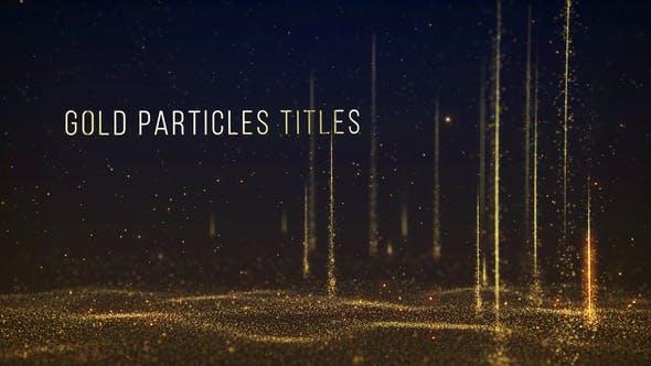 AE模板-大气粒子上升飘动背景文字标题颁奖晚会项目活动宣传片头